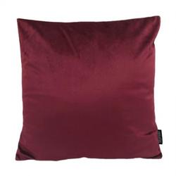 Velvet Wijnrood | 45 x 45 cm | Kussenhoes | Velvet/Polyester