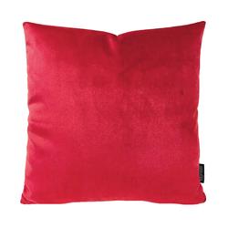 Velvet Rood | 45 x 45 cm | Kussenhoes | Velvet/Polyester