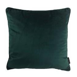 Velvet Piped Intens Groen | 45 x 45 cm | Kussenhoes | Polyester