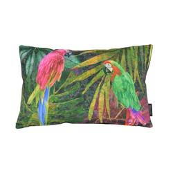 Velvet Parrot Long | 30 x 50 cm | Kussenhoes | Velvet/Polyester