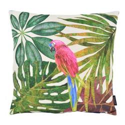 Velvet Parrot Jungle | 45 x 45 cm | Kussenhoes | Velvet/Polyester