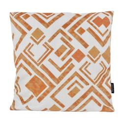 Velvet Matrix Rust   45 x 45 cm   Kussenhoes   Polyester