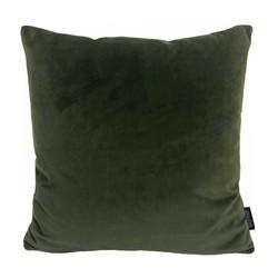 Velvet Legergroen | 45 x 45 cm | Kussenhoes | Polyester