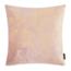 Velvet Leaves Roze | 45 x 45 cm | Kussenhoes | Velvet/Polyester