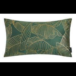 Velvet Leaves Long Groen | 30 x 50 cm | Kussenhoes | Polyester