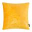 Velvet Leaves Geel   45 x 45 cm   Kussenhoes   Velvet/Polyester