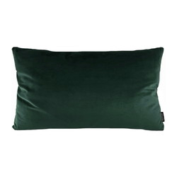 Velvet Intens Groen Long | 30 x 50 cm | Kussenhoes | Polyester