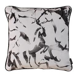 Velvet Horses | 45 x 45 cm | Kussenhoes | Velvet/Polyester