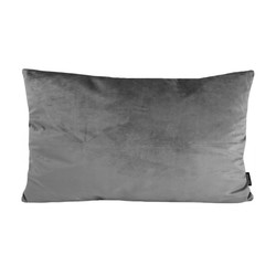 Velvet Grijs Long | 30 x 50 cm | Kussenhoes | Polyester