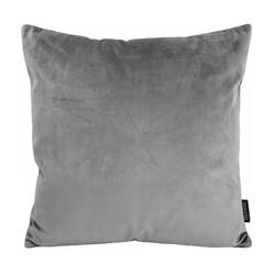 Velvet Grijs | 45 x 45 cm | Kussenhoes | Velvet/Polyester