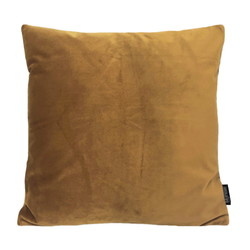 Velvet Goud / Bruin | 45 x 45 cm | Kussenhoes | Polyester