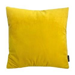 Velvet Geel | 45 x 45 cm | Kussenhoes | Velvet/Polyester