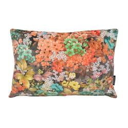 Velvet Flowers 3 Long | 30 x 50 cm | Kussenhoes | Velvet/Polyester