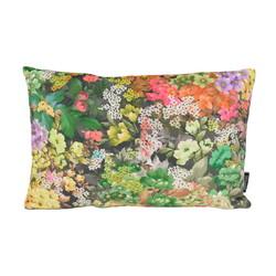 Velvet Flowers 1 Long | 30 x 50 cm | Kussenhoes | Velvet/Polyester