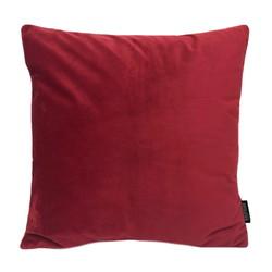 Velvet Donkerrood   45 x 45 cm   Kussenhoes   Polyester
