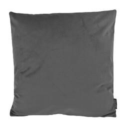 Velvet Donkergrijs | 45 x 45 cm | Kussenhoes | Polyester