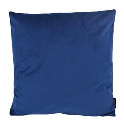 Velvet Donkerblauw | 45 x 45 cm | Kussenhoes | Polyester