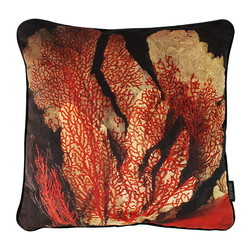 Velvet Dark Coral   45 x 45 cm   Kussenhoes   Velvet/Polyester