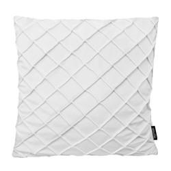 Velvet Cross Wit | 45 x 45 cm | Kussenhoes | Velvet/Polyester