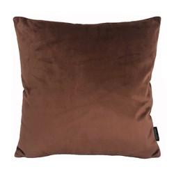 Velvet Bruin | 45 x 45 cm | Kussenhoes | Velvet/Polyester