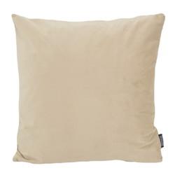 Velvet Beige   45 x 45 cm   Kussenhoes   Velvet/Polyester