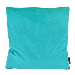 Velvet Aqua Blauw   45 x 45 cm   Kussenhoes   Polyester