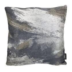 Rush Silver - Grey | 45 x 45 cm | Kussenhoes | Jacquard