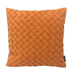 Nexa Suedine Oranje | 45 x 45 cm | Kussenhoes | Suedine