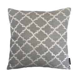 Jacquard Eden Silver Grey | 45 x 45 cm | Kussenhoes | Jacquard