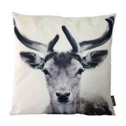 Nature Deer   45 x 45 cm   Kussenhoes   Linnen/Katoen
