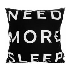 Need More Sleep | 45 x 45 cm | Kussenhoes | Katoen/Polyester