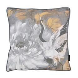 Jacquard Velvet Swan | 45 x 45 cm | Kussenhoes | Velvet/Polyester