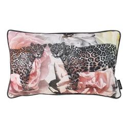 Jacquard Velvet Leopard | 30 x 50 cm | Kussenhoes | Velvet/Polyester