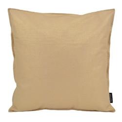 Beige / Gold Metallic | 45 x 45 cm | Kussenhoes | Katoen