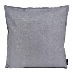 Dark Grey / Silver Metallic | 45 x 45 cm | Kussenhoes | Katoen