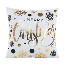 Balls & Snowflakes | 45 x 45 cm | Kussenhoes | Katoen/Polyester
