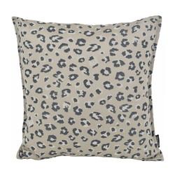 Jacquard Leopard Silver | 45 x 45 cm | Kussenhoes | Polyester