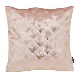 Velvet Glossy Zoi Roze | 45 x 45 cm | Kussenhoes | Polyester