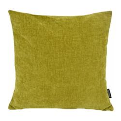 Chenille Groen | 45 x 45 cm | Kussenhoes | Polyester