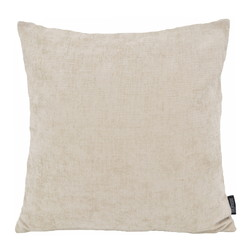 Chenille Beige | 45 x 45 cm | Kussenhoes | Polyester