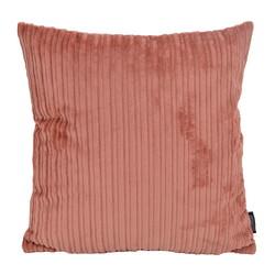 Corduroy Velvet Roze  | 45 x 45 cm | Kussenhoes | Polyester