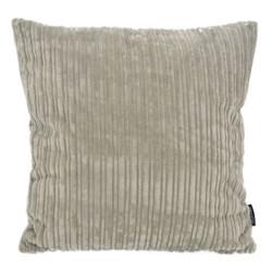 Corduroy Velvet Grijs | 45 x 45 cm | Kussenhoes | Polyester