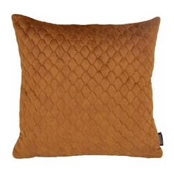 Nera Velvet Cognac | 45 x 45 cm | Kussenhoes | Polyester