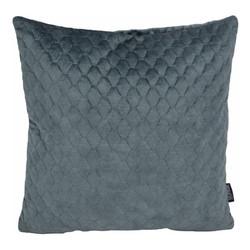 Nera Velvet Steel Blue | 45 x 45 cm | Kussenhoes | Polyester