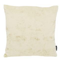 Flo Gold Velvet Creme | 45 x 45 cm | Kussenhoes | Polyester