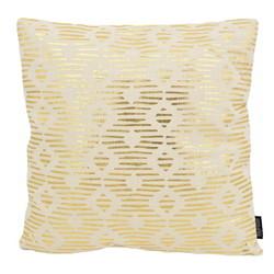 Java Gold / Natural | 45 x 45 cm | Kussenhoes | Katoen