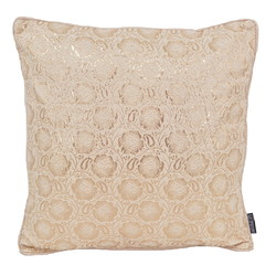 Mira Ivory / Rose | 45 x 45 cm | Kussenhoes | Polyester