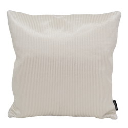 Rohan White / Silver | 45 x 45 cm | Kussenhoes | Polyester