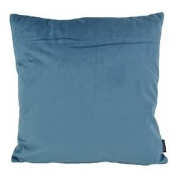 Velvet Denim Blauw   45 x 45 cm   Kussenhoes   Velvet/Polyester