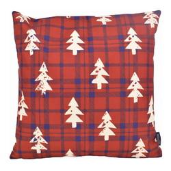 Tartan Christmas Tree   45 x 45 cm   Kussenhoes   Katoen/Linnen